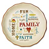 Abbey Gift Family Pie Plate