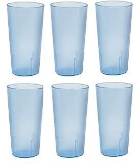 20 ounce restaurant tumbler beverage cup stackable cups break resistant commmerical plastic set