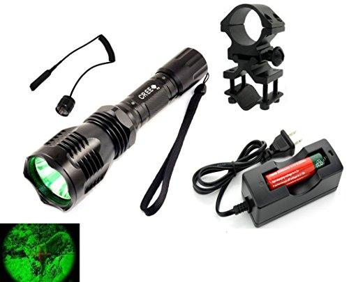 long range flashlight green - 5