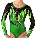 Demi Mystique Gymnastics Competition Leotards Rhinestone TL038