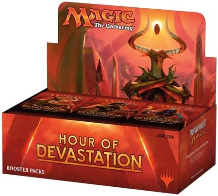 THE GATHERING HOUR OF DEVASTATION BOOSTER PACK MAGIC 1 SEALED PACK
