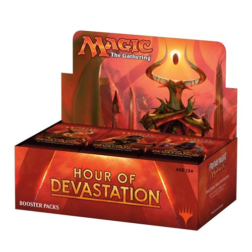 - Magic The Gathering 15088 Hour of Devastation Card Booster Box