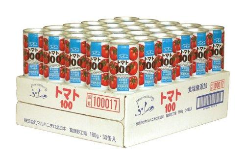 Furano tomatoes 100 salt additive-free 160gX30 cans by Maruha Nichiro northern Japan