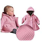 xhorizon TM T175 Baby Girls Hooded Warm Wool Cotton Jacket Trench Coat Outwear