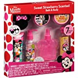 Disney Minnie Mouse Sweet Strawberry Scented Bath & Body Gift Set