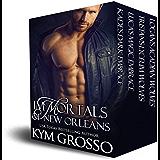 Immortals of New Orleans Box Set (Books 1-4)