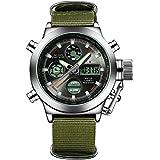 Fashion Army Cool Men Military Watch Sports Casual LED Digital Clock