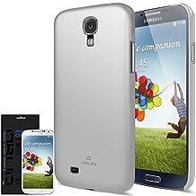 [SG Satin Silver] JL316 Samsung Galaxy S4 Case - Premium Slim Fit Hard Case - Rogers, Telus, Bell, International, and Unlocked - Galaxy S 4 SIV S IV GS4 i9500 2013 Model