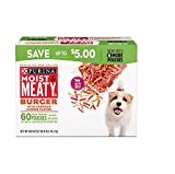 Purina Moist and Meaty Burger for Pets with Cheddar Cheese Flavor, 54 Count