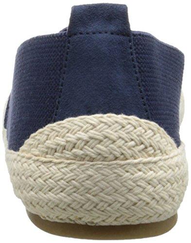 Lauren Ralph Lauren Womens Gardena Fashion Sneaker Moderna Navy Stretch Twill
