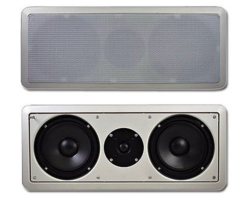 Acoustic Audio CC6 6.5-Inch Center Channel with Crossover (White) by Acoustic Audio by Goldwood