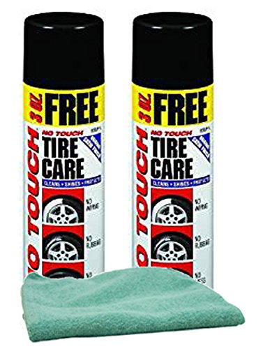 Permatex No Touch Tire Care Bundle with Microfiber Cloth (3 Items) ()
