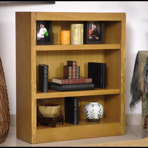 Midas Three Shelf Bookcase 36