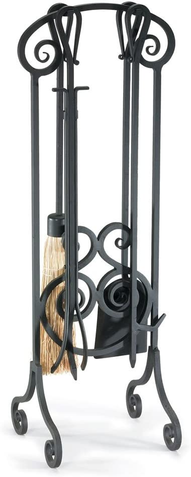 NAPA FORGE Black Pilgrim Home and Scroll Hearth Antique F 19001 Trust Chicago Mall