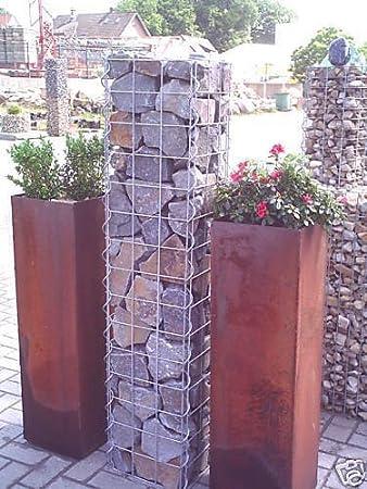 gabionen toom gabionen erlangen, gabionen, xx cm,  x , column