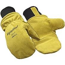 RefrigiWear Fleece Lined Insulated Leather Mitt Glove