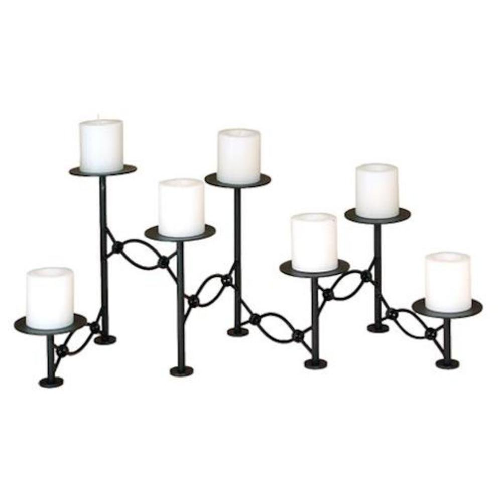 Amazon Com Chain Link Fireplace Candelabra Home Kitchen