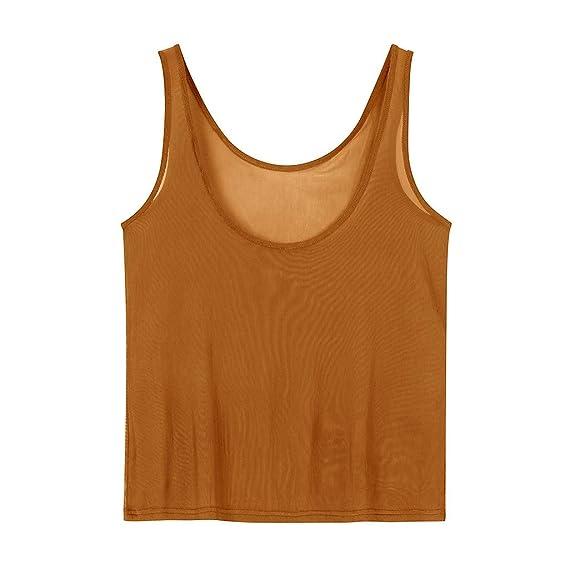 DMZing - Blusa Casual para Mujer con Camisa Sexy para Playa, Club ...