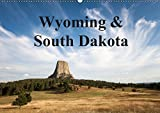 Wyoming & South Dakota (Wandkalender 2019 DIN A2 quer)