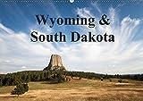 Wyoming & South Dakota (Wandkalender 2019 DIN A2 quer): Beeindruckende Landschaften der Rocky Mountains (Monatskalender, 14 Seiten )