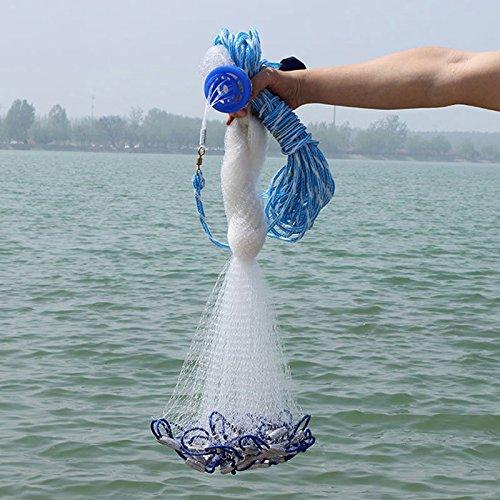 Alftek Cast Net Mesh 4ft-12ft Salzwasser Klar Köder Cast Cast Cast Fischernetz Fush Capture B07DW8B8PM Netze Lass unsere Waren in die Welt gehen 6013e7