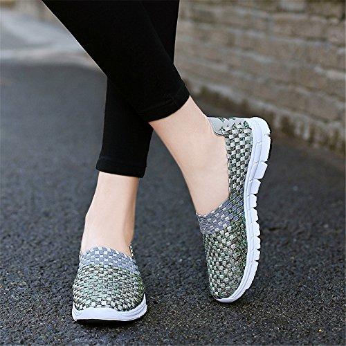 AIRAVATA Zapatillas SH075 para Mujer Grau1 qwqrp5