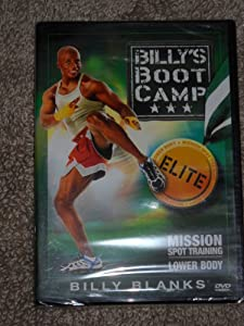 Billy s Bootcamp Elite Mission Spot Training Upper Body Details