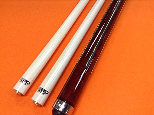 LONGONI CAROM CUE CREMONA GRANATA WITH TWO S20 SHAFTS (limited edition) by LONGONI