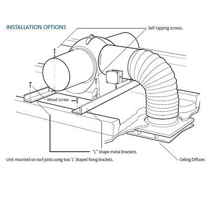 Amazon Com Nuaire Drimaster Condensation Ventilation Loft Unit By