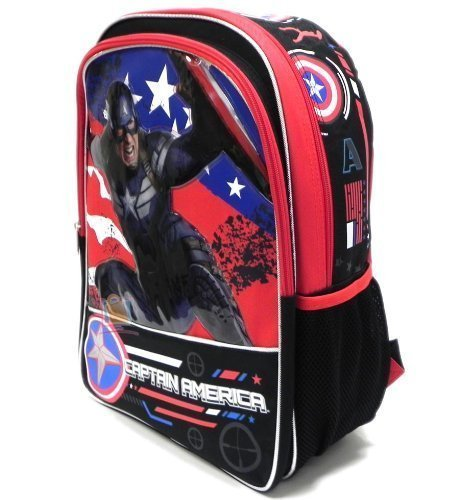 Captain America - 16'' Backackpack - Great Bravery