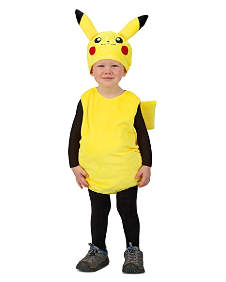 Costume Pikachu Bambino.Horror Shop Pokemon Pikachu Toddler Costume 1 5 2 Jahre Amazon Co