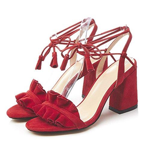 AN Ballerine Red Ballerine AN Red AN Donna Ballerine Donna Donna 4xHq55