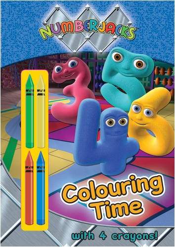 buy numberjacks colouring time colouring time with crayons book online at low prices in india numberjacks colouring time colouring time with crayons - Numberjacks Colouring Pages