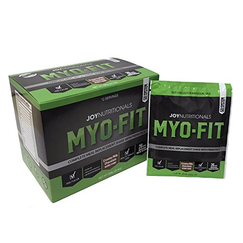 MYO-FIT Weight Loss, Fat Burning, Lean Muscle Building, Low Glycemic Complete Whey Protein Meal Replacement Shakes w/Prebiotics & Dietary Fiber. Only 230 Calories. (Milk Chocolate) - Low Fat Meals
