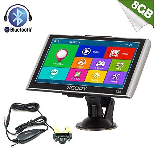 Xgody 826 Capacitive Touchscreen Wireless Rearview Backup