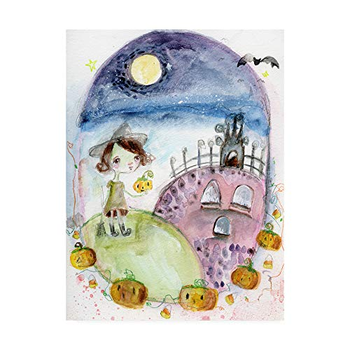 Trademark Fine Art This is Halloween by Mindy Lacefield, 24x32]()