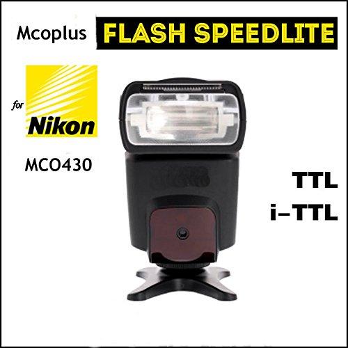 Kaavie® Mcoplus MCO430N i-TTL Universal Speedlite Flash (GN42) with LCD Screen for Nikon D7100 D5300 D5200 D3300 D3200 D3100 D600 D700 D750 D800 D90 D80 D300s