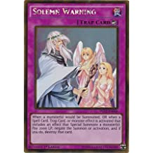 Yu-Gi-Oh! - Solemn Warning (PGL2-EN068) - Premium Gold: Return of the Bling - 1st Edition - Gold Rare by Yu-Gi-Oh!