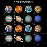 Our Planets USPS Forever Postage Stamps Sheet of 16 Self-Adhesive (1 Sheet of 16 Stamps)