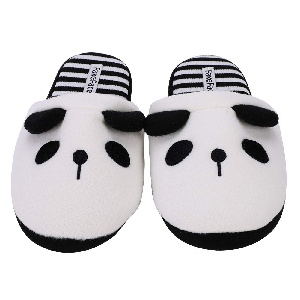 138511fcafd2 Fluffy Panda Slippers