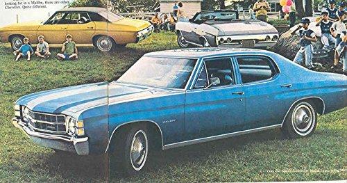 1971 Chevrolet Chevelle Full Line Sales Brochure