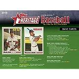 2019 Topps Heritage Baseball Factory Sealed 24 Pack Hobby Box - Baseball Wax Packs