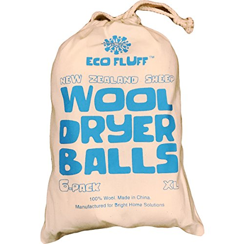 Wool Dryer Balls – 6 Pack XL for Clothes & Laundry Only $4.80 **EXPIRED**