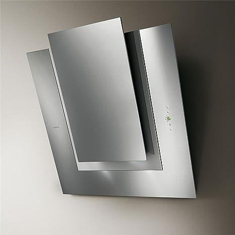 Creme Elica cappa cucina da parete, in acciaio inox, 80 cm: Amazon ...