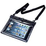 Keynice 防水ケース iPAD mini/iPad mini Retina/4/3/2対応 防水保護等級IPX8取得 羅針盤搭載 ストラップ付 ブラック