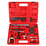 Highking Tool Engine Timing Tool Kit Compatible for Ford Mazda Camshaft & Flywheel Locking Tools 1.4 1.6 1.8 2.0 Di/TDCi/TDDi Engine