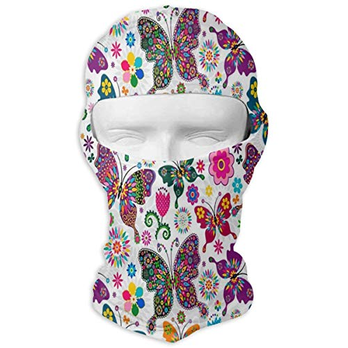 Balaclava Butterfly Wings Full Face Masks Ski Headcover Motorcycle Cycling Snowboard
