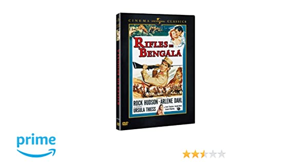Rifles de bengala (DVD): Amazon.es: Rock Hudson, Arlene Dahl, Ursula Thiess, Torin Thatcher, Arnold Moss, László Benedek: Cine y Series TV