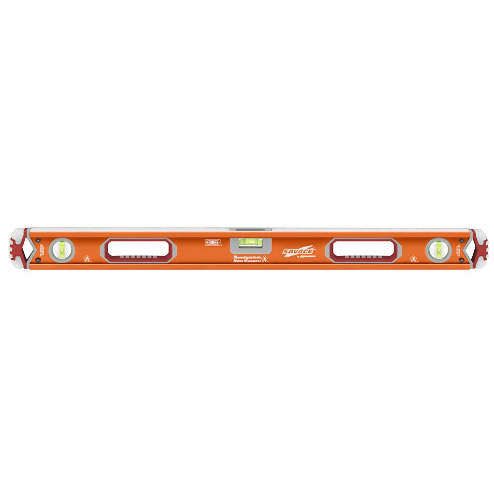 Swanson SVB32M 32-Inch Savage Magnetic Professional Box Beam Level with Gel End Cap