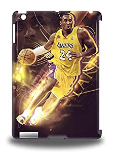 New Snap On Ipad Skin Case Cover Compatible With Ipad Air NBA Los Angeles Lakers Kobe Bryant #24